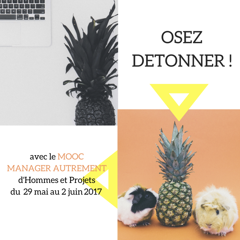 MOOC&ME capagne de com OSEZ DETONNER